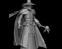 Dark Wizard Model by D Art