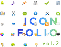 Icons vol. 2 App Icons, Mixed Collection