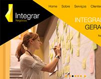 Integrar Negócios - Website + HotSite WAP 2015