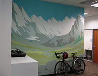 Mountain Mural (41ft x 10ft)