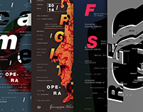 Poster collection, part 05, 2014 / 15