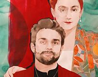 Portrait of Eleni & Dave