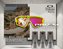 Oakley Prizm Window Display