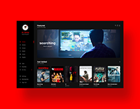 Movie UI (Darkmode)