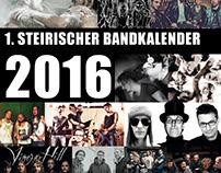 1. Steyrischer Bandkalender – 1st Styrian Band Calendar