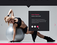 Barcelona - HTML/CSS Template for Fitness Gym and Fitne