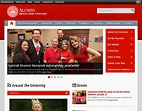 Illinois State Alumni Website