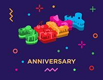 Jelly Anniversary
