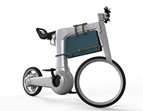 electric city bicycle concept (old modeling)