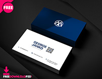 Official Bussiness card PSD Template