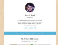 TheMasterPiece WordPress Blog Theme