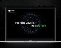 Peerbits unveils its new look