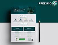 Web Hosting Flyer Free Download