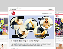 lululemon Marketing Emails