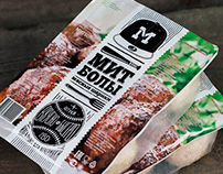 Meatball. Packaging design.
