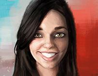 Nicole caricature