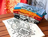La gran bestia Pop tshirt design