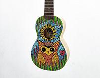 Ukulele Paiting OWL
