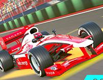 Formula car race (ui)