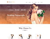 Feminine Design For A Wedding Photography Service