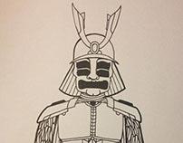 Samurai tendril armor