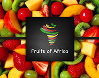 Fruits of Africa- Branding Logo