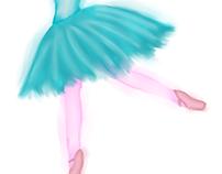 Carinho Mágico das Bailarinas Borboletas