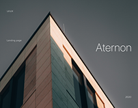 Landing page for the club house Aternon