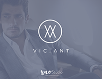 Logo design purpose for Vic.Ant