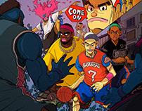 Fever Basketball Artwork