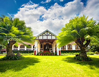 Resort & Restaurant Interior and exterior shot