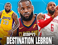 Destination LeBron for ESPN
