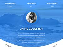 App Design - Profile Page