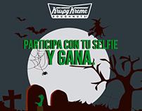 Dulce halloween en Krispy Kreme