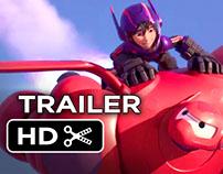 Disney's Big Hero 6 Trailer