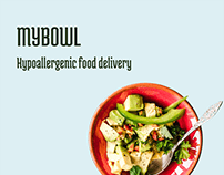 MYBOWL. Hypoallergenic food delivery concept 2020