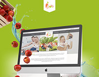 Fit and fresh website presentation