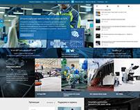 Корпоративный сайт для компании ИРИСОФТ