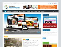 Criação de website: Portal do Envelhecimento