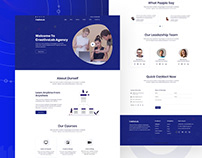 Agency - Landing Page Concept