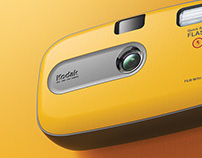 RE MAKE DESIGN KODAK (one time use camera)
