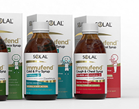 SOLAL Immufend Packaging
