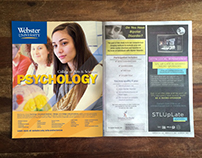 Webster University Program Advertising