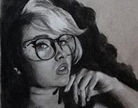 Chiaroscuro Self Portrait