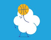 La Salle Basketball Ads