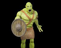 Erebus Character Modelling