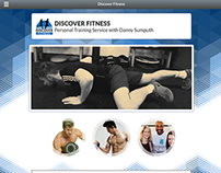 Discover Fitness, Personal Trainer Website