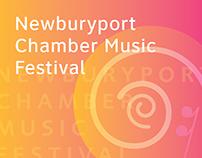 Newburyport Chamber Music Festival Branding