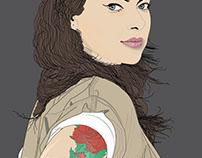 Alex VAuse illustration (OITNB)
