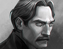 The Colonel | Portrait study